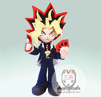 Yami Yugioh Anime Plush Doll by kaijumama