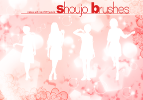 shoujo brushes by ffyunie