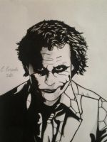 Joker by CarlyComics
