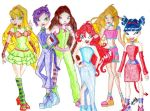 Winx Halloween by IsisConstantine