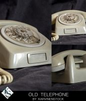 Old Telephone (Stock) by KarvinenStock