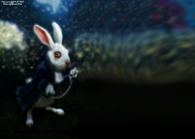 Wonderland Rabbit by BlondieAu