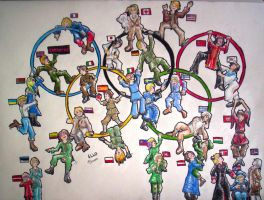 Hetalia Olympics by Ello-is-broken