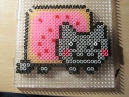 Nyan Cat Hama Beads by XxSecretofringxX