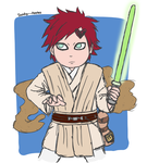 Jedi Gaara by Sandy--Apples