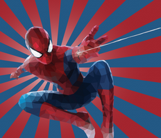 Low poly Spiderman by ArtClem