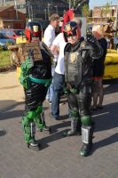 Stoke-Con-Trent 2014 (38) Judge Dredd and Anderson by masimage