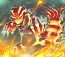Pokemon : Primal Groudon