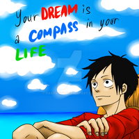 One piece: life compass by VasyaNya