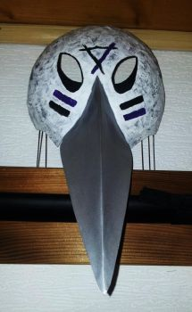 Bird Mask - front by MustageIce