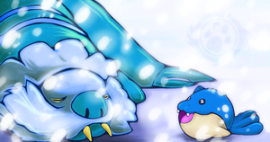 Wake Up! Spheal wants to play!!! by TheBlazingK