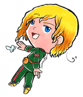[APH] chibi 2p!Norway (transparent) by Smimon