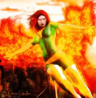 Jean Grey by PGandara