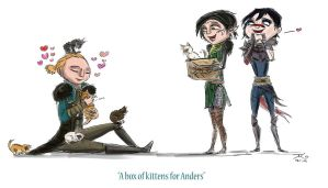 A Box of Kittens for Anders by coolbyproxy