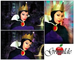 Grimilde cosplay - Snow White and the seven dwarfs by Daelyth
