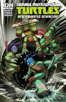 TMNT-Animated-15 Cover-RI by s-bis