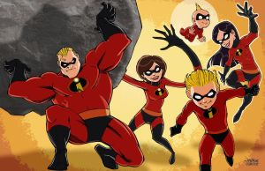 The Incredibles by MikeDimayuga