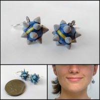 Sticky Bomb Earrings by WispyChipmunk