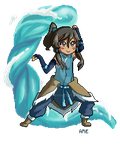 Waterbending! [click for full] by Koikii