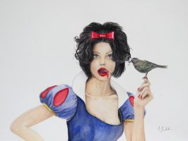 Snow White by C-Quackenbush