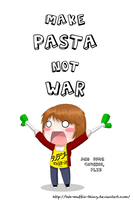 .:Make Pasta Not War:. by teh-muffin-thing
