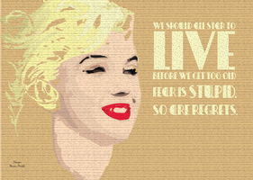 Live before getting old - poster by Z-any