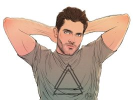 Derek Hale by MisterLIAR