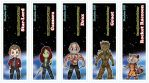 Guardians of the Galaxy Chibi Bookmarks by DannimonDesigns