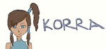 [Rushed Draw]:LoK: Korra by SelSilver