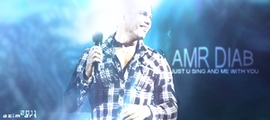 Amr Diab Signature by AsiiMDesGraphiC