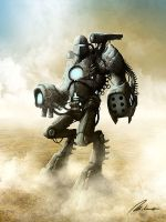 Warmachine by Dreamphaser