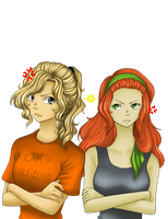 Annabeth vs Rachel by Princess-Hazel