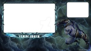 Shockblade Zed Twitch.tv Overlay by Tramauhh