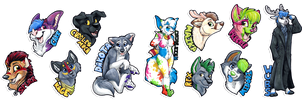 Badge Batch 10 by Tsebresos