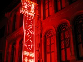 Chinatown Series- Red Light by Gelios
