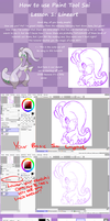 How to use Paint Tool Sai. Lesson 1: Lineart by Libra-Dragoness