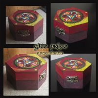 Triskle Wooden Box by GatoPretoArtesanato