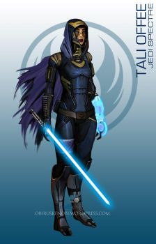StarWars MassEffect Crossover Tali Offee by rs2studios