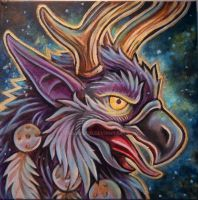 Moonkin Painting by DragonCid