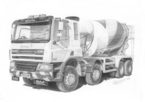 Cement mixer by Billberry