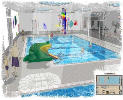 Swim School 3D by Orinn