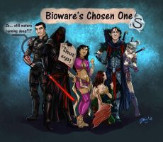Bioware's Chosen Ones by Astrea75