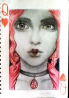 Queen of Hearts by EXTREMEbookworm