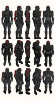 Mass Effect, Male Onyx N7 Armour Heavy by Troodon80