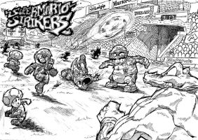 Super Mario Strikers by Escopeto
