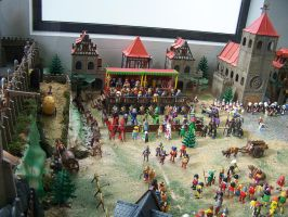 100 5746 Playmobil in the Entrego Asturias by fueledbyfreestock