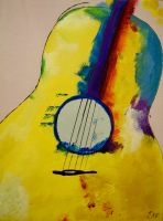 Guitar 2 (Comissioned) by glitterdrums