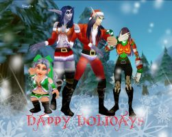 Merry Christmas by iJessykins