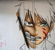 Eren in progress by DoreiShounen