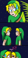 Link and Ben by Scarygermangirl